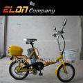 "Plegable bicicleta eléctrica 16"" medio motor eléctrico( e-tde06f)"