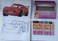 desenho para colorir caneta giz de cera