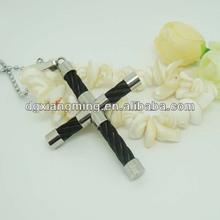 joyería de moda de dios los bendiga u cruz único colgantes