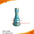 Vidrio fumar shisha, pipa de agua de vidrio