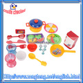 30 piezas de juguetes de plástico juego de cocina conjunto para chico de colores