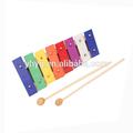 caliente 2014 xilófono de metal juguetes para los niños instrumento musical