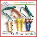 De madera saltar la cuerda/saltar la cuerda juguetesclásicos juguetes promocionales