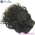 virginal del pelo humano extensiones de cabello humano africano