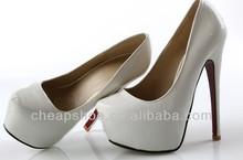 plataforma atractiva Stilletos zapatos 6inch mujer