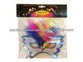 parte máscaras de papel/mariposa máscara de plumas con