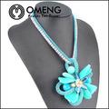 venta al por mayor joyería de moda joven trenzada collar bib hecho en china