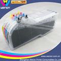 largo cartucho de tinta recargables para el hermano LC61 LC39 LC38 impresora cartucho de tinta