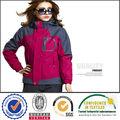 2014 para mujer china encapuchados chaqueta a prueba de viento impermeable