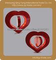 Corazón shap marco de fotos marco de fotos magnético flotante