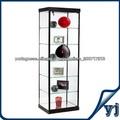 Bom design retângulo vitrine de vidro Fábrica da China
