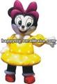hola 2014 ce venta caliente inflable de minnie mouse traje de los animales