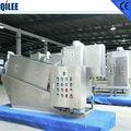 Deshidratación prensa de husillo para el tratamiento de aguas residuals