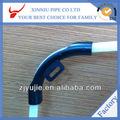 tubo de plástico de doble apoyo