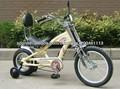 Bicicleta chopper sola velocidad para niños/ Nuevo barato bicicletas chopper de alta calidad para niños KB-CH-J02