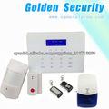 Vivid Display LCD GSM inalámbrico de alarma de seguridad y sistema de alarma de protección Securiy