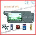 car DVD sunvisor DVD with USB/SD