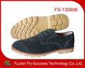 de cuero de gamuza de cannes la fábrica china de calzado casual
