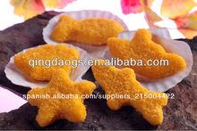 de los productos empanados forma de pescado