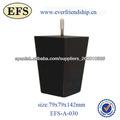 baratos cuadrados de madera patas de los muebles(EFS-A-030)