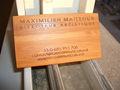 de negocios de madera tarjeta de nombre comercial para las mujeres macho