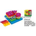 los niños aprenden la forma de juguetes educativos pila de plástico juguetes