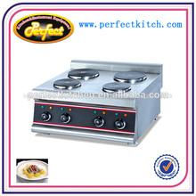 Contador eléctrico superior hornillos/hornillas/cocina eléctrica con placa 4-hot