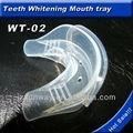 Para blanquear los dientes hechos en china de la boca de la guardia, bandeja de gel