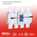 1600a~3150a ce y ccc del interruptor de aislamiento, interruptor seccionador,