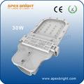 30w diodo emissor de luz da rua morrer- fundição logo barato de mercadorias a partir de xiamen china fábrica