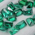 barato al por mayor piedra zirconia cúbico precio por quilate de esmeralda