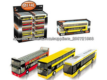 juguete autobús coche aleación con sonido IC