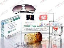foto de cristal de cristal de bloque para la promoción de regalo para souvenirs para