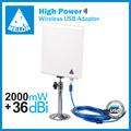 Venda quente- melão n9 painel de antena wireless usb adpter