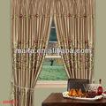 ployester bordada cortinas de tela de alta con la seda del faux fabricantes de cortinas