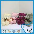 toysrus fornecedor de animais de brinquedo conjuntos coloridos sentado ursinho de pelúcia com laço