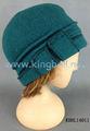 de alta calidad para damas de invierno gorro de punto sombrero de lana