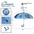 las ventas caliente completo de impresión hermosa costumbre imágenes de dibujos animados para los niños paraguas