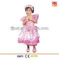 fancy rosa menina de vestido de baile para crianças