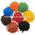 Alto poder colorante óxido de hierro pigmento usado en pinturas, hormigón, Caucho, Piensos