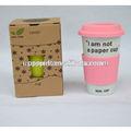venta caliente de café de cerámica taza taza de café reutilizables