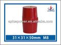 m8 epoxi de color rojo aislante