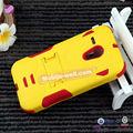 armadura do telefone móvel combo caso de couro para celular alcatel para vários modelos