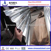 ASTM A924 placa de calamina galvanizada