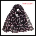más populares de los animales de impresión bufanda de zhejiang