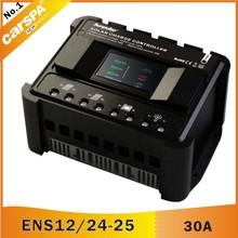 Pwm controlador de carga solar con led de la serie ens 12/24v, 30a( ens12/24- 30)