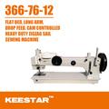 Keestar 366-76-12 braço longo ziguezague vela que faz a máquina de costura industrial