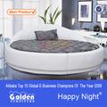 Alibaba 6805# super king size ronda de australia camas venta caliente