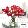 flor de plástico para la decoración casera