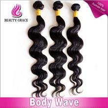 caliente la venta de la mejor calidad peruano virgen cuerpo de onda del pelo de la trama